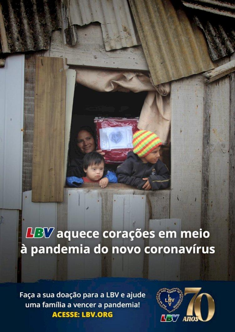 Ação da LBV !!!. Um milhão quilos de doações